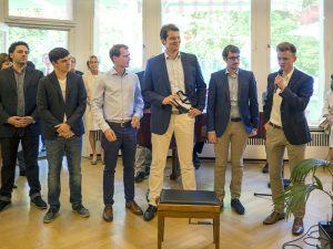 Die jungen Unternehmer aus dem CyberForum e.V. stellen Ihre Firmen vor.