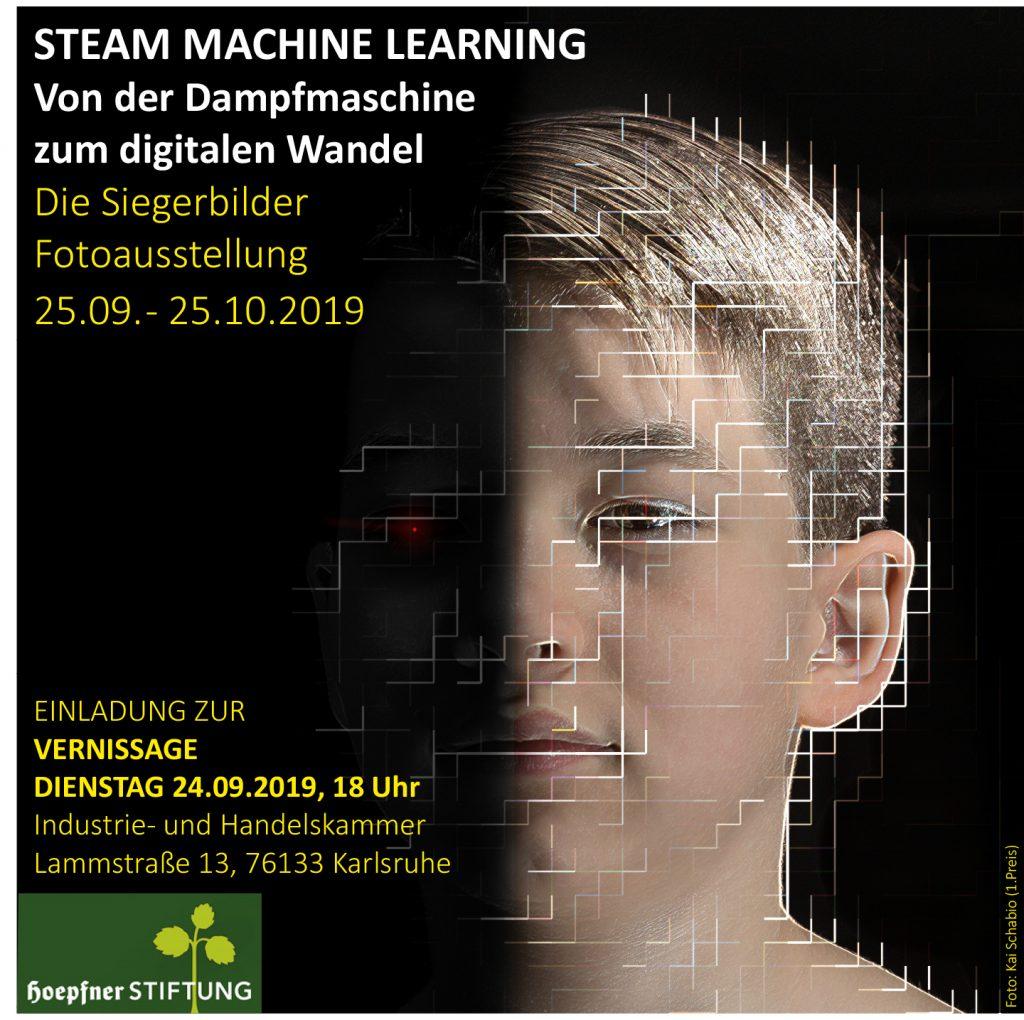 """""""Steam Machine Learning. Von der Dampfmaschine zum digitalen Wandel."""""""